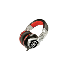 Red Wave Headphones