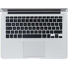 MacBook Pro 13-Inch Retina Keyboard (Mid 2015)
