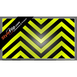 Black & Yellow Chevron Acer Aspire S7 13.3
