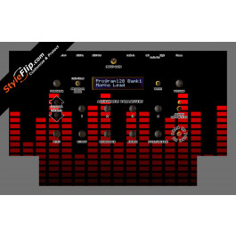 Red Equalizer Dave Smith Instruments Mopho
