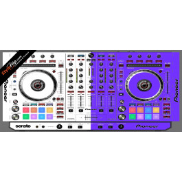 Purple & White  Pioneer DDJ-SX2