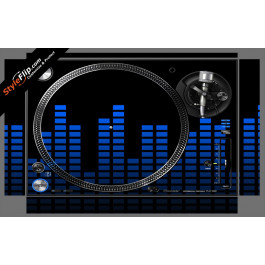 Blue Equalizer Pioneer PLX-1000