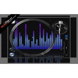 Blue Tones Pioneer PLX-1000