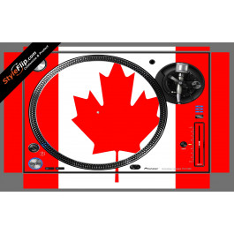 Canadian Flag  Pioneer PLX-1000