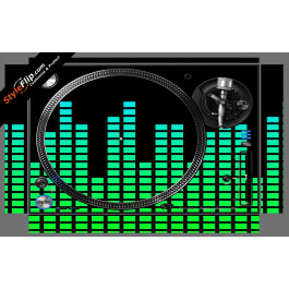 Green Equalizer  Pioneer PLX-1000