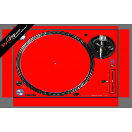Solid Red Pioneer PLX-1000