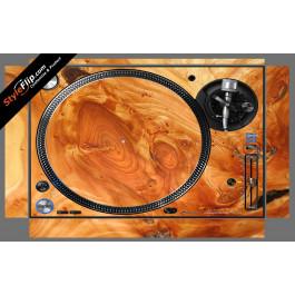 Stained Wood Pioneer PLX-1000