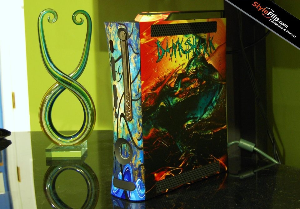 Microsoft Xbox 360 Console Skin, Decals, Covers & Stickers