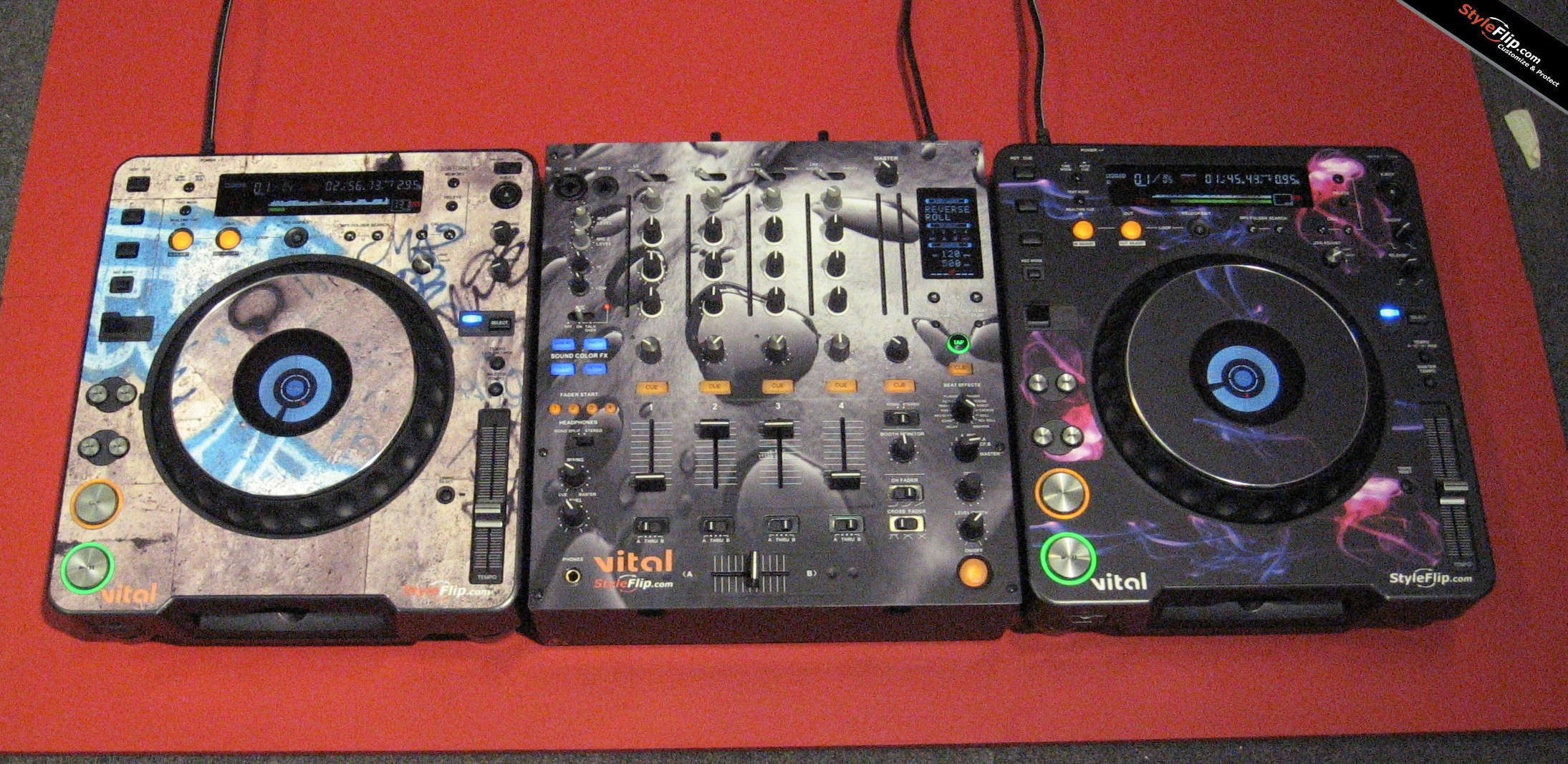 Pioneer Djm 800 Skin Decals Covers Stickers Buy Custom Skins 1000 Circuit Board And Sticker Designs Photos